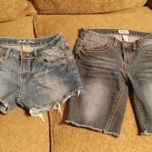Jean Shorts Bundle Size 5/6 Apollo & Mudd